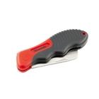 Нож электрика, складной, прямое лезвие, эргономичная двухкомпонентная рукоятка // MATRIX