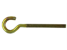 Полукольцо с метрической резьбой М6 х 60 (100 шт) оцинк.
