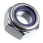 Гайка самоконтрящаяся с нейлоновым кольцом М6 DIN 985 сталь А2-70 упак. 1000 шт