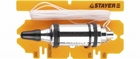 """Отвес STAYER """"PROFI"""" строительный со шнуром, с противоударным ободком, 300 г"""