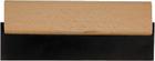 Шпатель для фуговки (черная резина), 200мм (шт.)