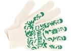 """Перчатки садовые х/б, ПВХ-покрытие """"Летний сад"""", 10 класс // PALISAD Россия"""