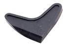 """Шпатель """" сердечко """" для нанесения силикона,  90 х 90мм (Remocolor) (шт.)"""