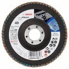 Лепестковый круг Best КЛТ керам. корунд 125 K40 стекловолокно прям Bosch 2.608.601.490