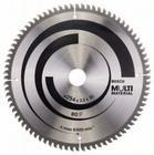 Диск пильный универсальный 254х30мм 80Т Multi Material GCM 10 Bosch 2.608.640.450