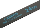 Полотно для ножовки по металлу 300 мм 24TPI Carbon 2 шт // GROSS