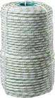 Фал плетёный капроновый СИБИН 16-прядный с капроновым сердечником, диаметр 8 мм, бухта 100 м, 1000 к
