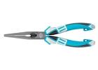 Длинногубцы прямые 205 мм,  трехкомпонентные рукоятки// GROSS
