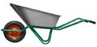 Тачка садово-строительная, 2-х колесная, усиленная, грузоподъемность 320 кг, объем 100 л// PALISAD