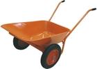 Тачка садово-строительная ТСО-2-02/01, двухколесн, цельнолит.колесо, грузоподъемность 120, объем 90л