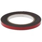 Лента клейкая на вспененной основе усиленная, двусторонняя, черная, 9 мм х 5 м// MATRIX