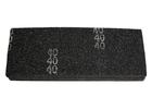 Сетка абразивная P80 106 х 280 мм (25 шт) // MATRIX