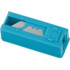 Лезвия 19 мм трапециевидные, пластиковый пенал, 12 шт. // GROSS