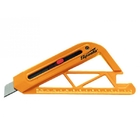 Нож 18 мм, выдвижное лезвие, для резки обоев, линейка // SPARTA
