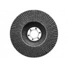 Круг лепестковый торцевой конический Р80 125 х 22,2 мм // СИБРТЕХ