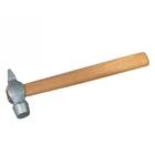 Молоток слесарный, 800 г, круглый боек, деревянная ручка // Россия