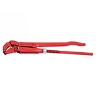 Ключ трубный рычажный 545 х 50 мм, с изогнутыми губками // СИБРТЕХ
