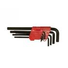 Набор ключей имбусовые 1,5 - 10 мм, CrV, 9 шт // MATRIX