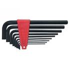 Набор ключей имбусовые 2,0 - 12 мм, удлиненные, CrV, 9 шт // MATRIX