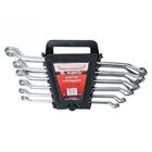 Набор ключей накидных 6 - 22 мм, CrV, полированный хром, 8 шт // MATRIX