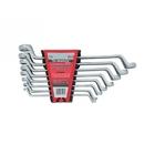 Набор ключей накидных 6 - 22 мм, CrV, Elliptical, зерк. хроммирование, 8 шт // MATRIX MASTER