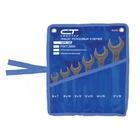 Набор ключей рожковых 6 х 32 мм CrV, фосфатированные, 10 шт // СИБРТЕХ