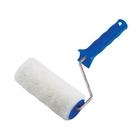 Валик из искусственного меха с ручкой, 200 мм, ворс 15 мм, D-48 мм, полиэстер // СИБРТЕХ