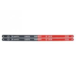 Полотно для ножовки по металлу 300 мм 24TPI биметаллическое 2 шт // MATRIX
