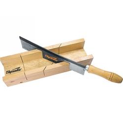 Стусло 300 х 60 мм, деревянное + пила 250 мм // SPARTA