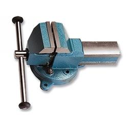 Тиски слесарные настольные, поворотные, ширина рабочих губок 50 мм, наковальня // СИБРТЕХ