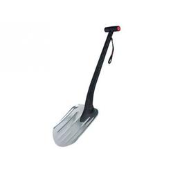 Лопата снеговая 460 х 340 мм, металл., черенок, морозостойкий платик, стальная окантовка // POLISAD