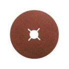 Круг фибровый, Р80, 180 х 22 mm, 5 шт. // MATRIX