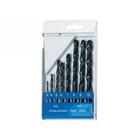 Набор сверл по металлу HSS 3 - 10 (через 1 мм), цилинд. хвост., 8 шт // SPARTA
